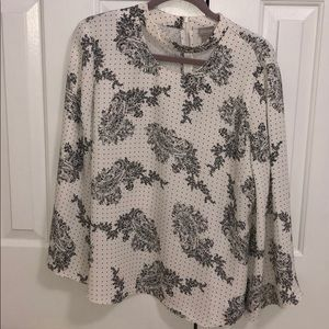 Chico's Blouse. Size 2. New with tags!